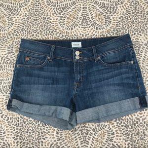 Hudson Croxley Mid Thigh Jean Shorts